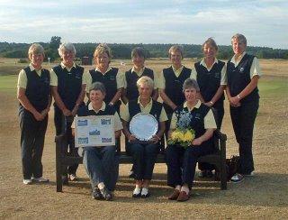 The 2006 Scottish Vets Winning Team