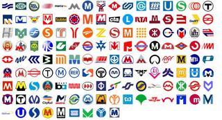 pictograma logotipo metro