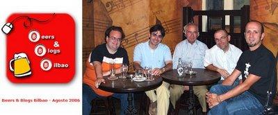 Beers & Blogs Bilbao Agosto 2006