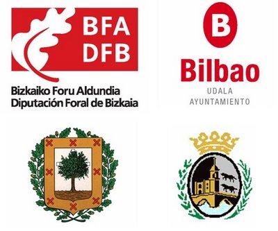 escudos bizkaia y bilbao