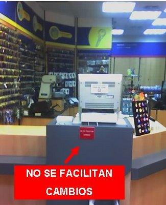 Si no sabes sonreir no abras una tienda