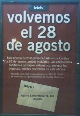 Marketing tecnolog a y vida agosto 2006 for Oficinas bancarias abiertas por la tarde