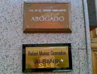 placa albañil
