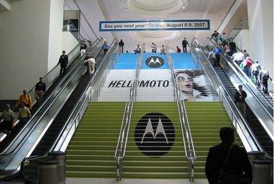 publicidad hasta en las escaleras