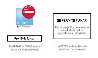 señalizacion tabaco