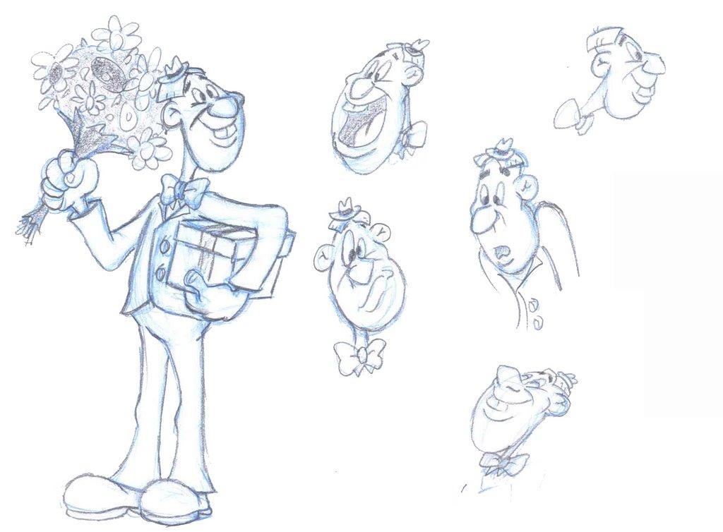 Rough Character Sketches Rough Character Sketches