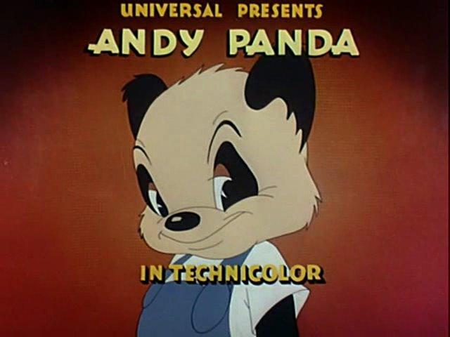 Cartoons model sheets stuff andy panda for Andy panda jardin