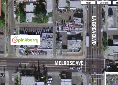 pinkberry map location