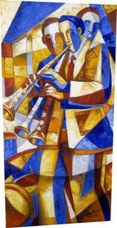 El Clarinetista Azul por Aida Emart