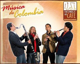 Ensamble del Café Cuarteto de Clarinetes