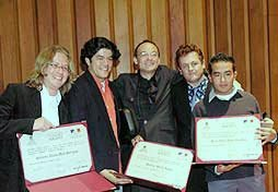 Ganadores del Concurso Nacional de Clarinete de Colombia