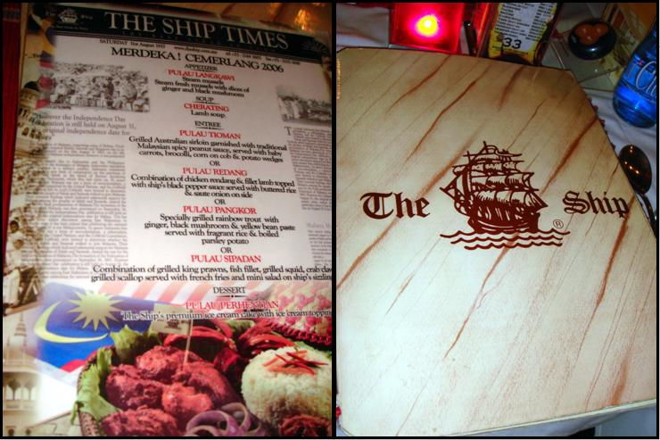 The Ship Menu Menu Untuk The Ship Bukit Bintang Kuala Lumpur