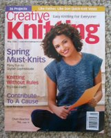 Creative Knitting Magazine May 2006