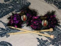 Fancy Fur yarn before