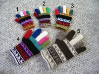 gloves in 5 sizes