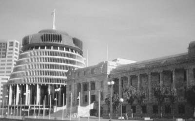 NZ Parliament House and The Beehive