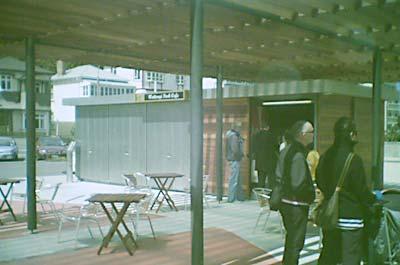 Waitangi Park Cafe - open at last!