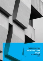 Wellington Architecture Week - pamphlet cover image