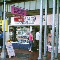 Bellamys Bookshop - closing down