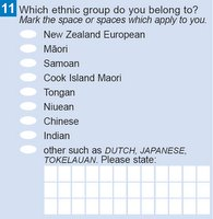 Census ethnicity question
