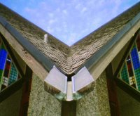 Chapel of Futuna - roof and spout