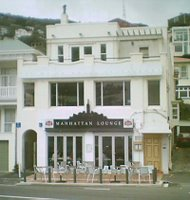 The Manhattan Lounge in Oriental Bay