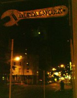 Metalworx sign, Vivian St