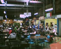 Foodcourt at the Wellington Market