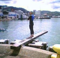 Walking the plank