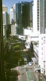 View along Lambton Quay