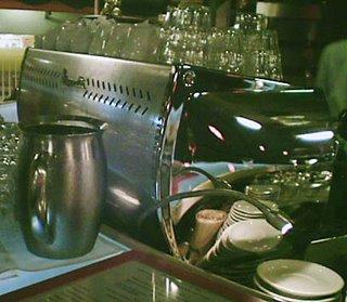 Mystery Bar # 29 - espresso machine