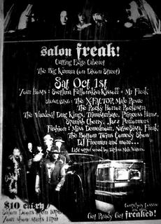 Salon Freak poster