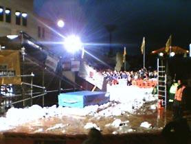 snow in Civic Square