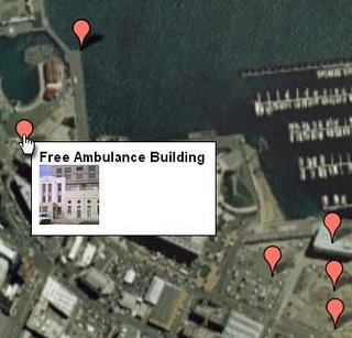 Screenshot of ZoomIn showing the 'Wellington waterfront changes' group