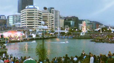 Wellington Waterfront: Hula Lagun concert and party