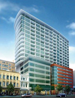 Rendering of Chews Lane apartments