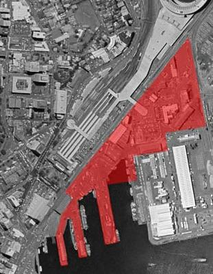 Harbour Quays site outline