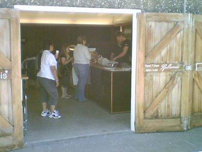 Kaffee Eis under Frank Kitts Park