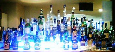 Mystery bar #16 - bottles behind the bar