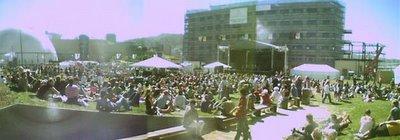 The Phoenix Foundation play at Waitangi Park, 24 February 2006