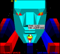Image of 'I, Robot' game attract screen.