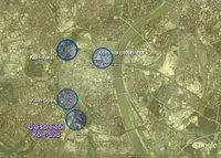Karte Gleisdreieck Köln-Süd