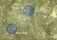 Karte Köln-Süd