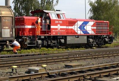 HGK DH703 Güterzug - abkuppeln
