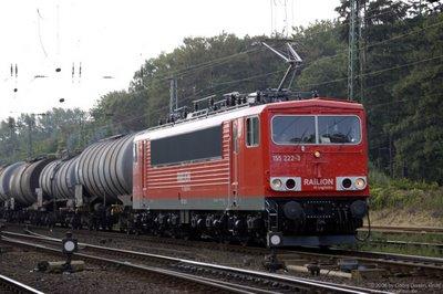 Railion Logistics BR 155 222-3