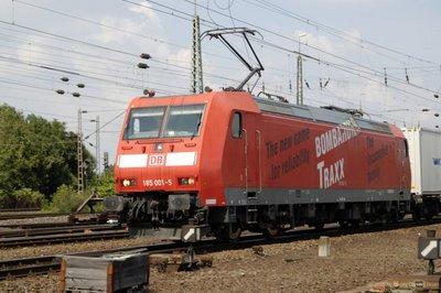 DB BR 185 001-5 - Bombardier Traxx