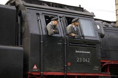 BR 23 042 Führerstand