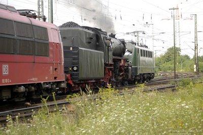 BR 23 042 unter Dampf