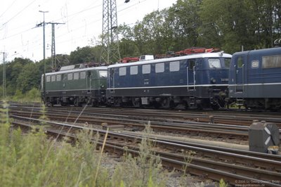 E 40 128 und E 41 001