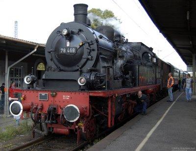 Ausfahrt BR78 468 in Kaldenkirchen